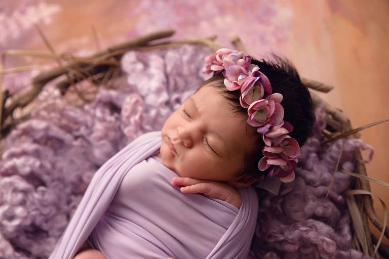 Wodonga newborn girl