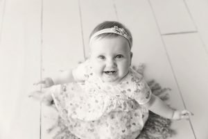 Smile baby girl