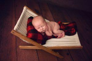 baby in hammock