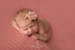 Newborn Session tummy